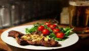 Flank Steak With Herb Marinade